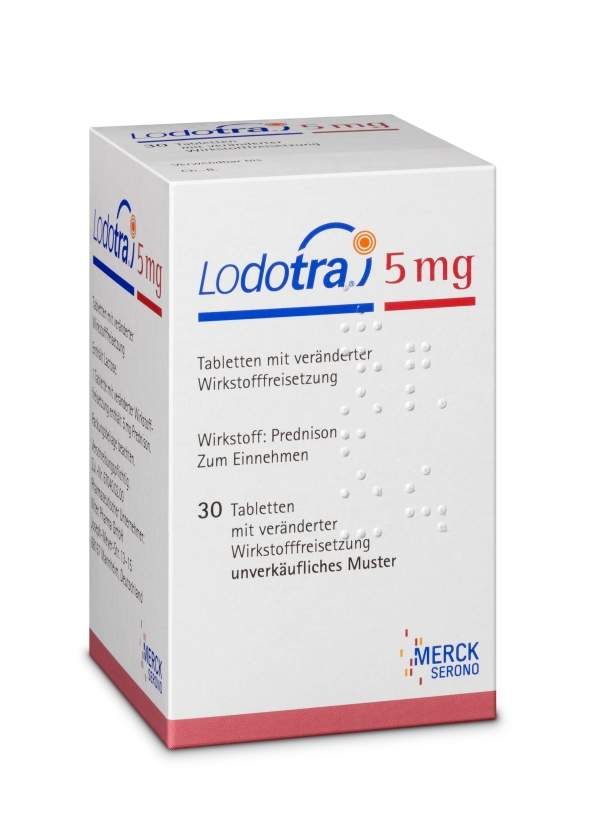 Lodotra is a modified-release formulation of low dose prednisone jointly developed by Nitec Pharma and SkyePharma. Image courtesy of Horizon Pharma (Invigoratepr).
