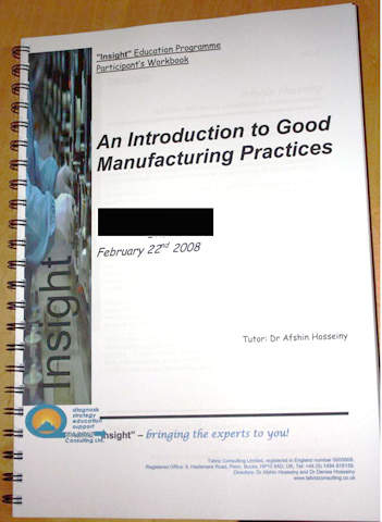 Comprehensive course book