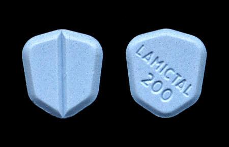 Lamictal 200mg tablets.