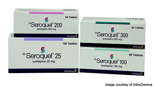 Seroquel (quetiapine fumarate) is an anti-psychotic drug indicated as a treatment for patients with major depressive disorder.