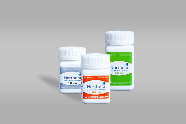 Northera capsules are available in 100mg, 200mg, and 300mg doses.