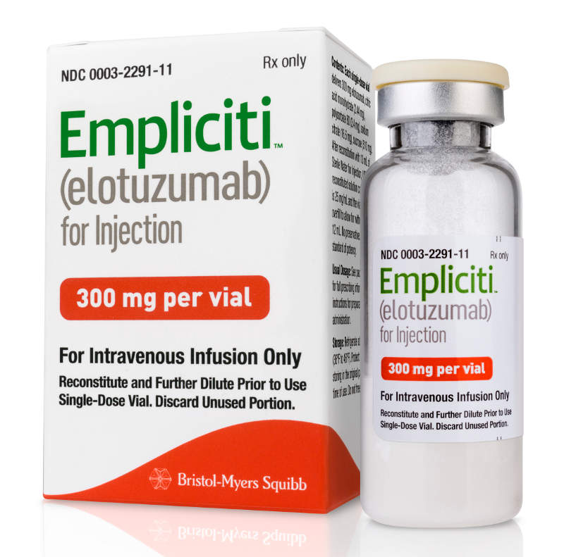 Empliciti's FDA approval was based on results from the ELOQUENT-2 Phase III clinical study. Image: courtesy of Bristol-Myers Squibb.