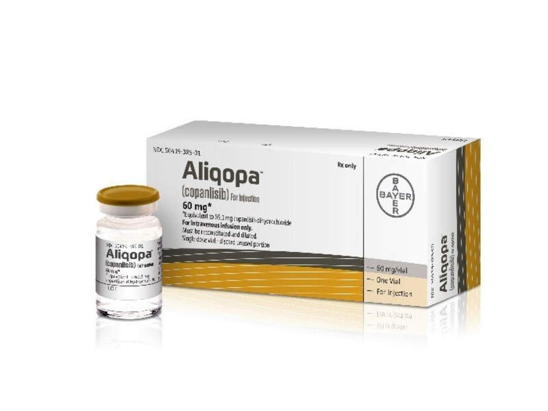 Aliqopa will be available in a 60mg vial that can be administered through intravenous injection. Image courtesy of Bayer AG.