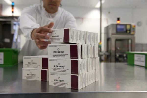 Bexsero is a vaccine indicated for the treatment of the Meningitis B disease. Image courtesy of Novartis, thenewsmarket.