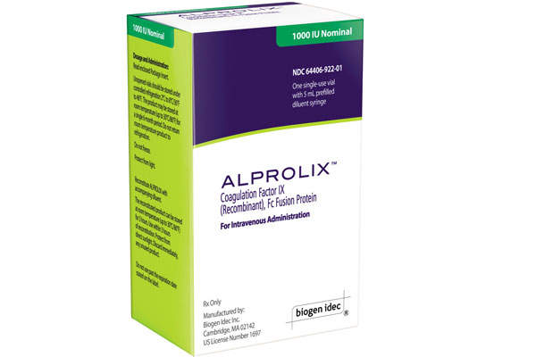 Alprolix can be administered through an intravenous injection. Image: courtesy of Biogen Idec.