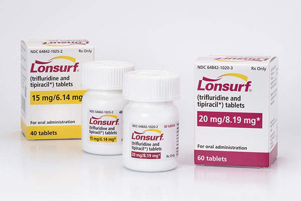 Lonsurf (trifluridine and tipiracil) is Taiho Oncology's first FDA approved drug. Image: courtesy of Taiho Oncology.