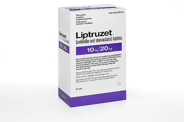 Liptruzet is available for oral administration in doses ranging between 10/10mg/day to 10/80mg/day.