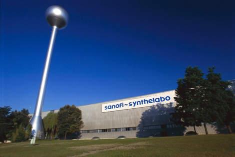 Sanofi-Synthelabo's Ambarès manufacturing facility