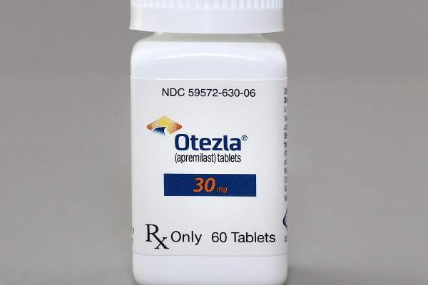 Otezla was approved by the FDA for the treatment of psoriatic arthritis in March 2014. Image:  courtesy of Celgene Corporation.