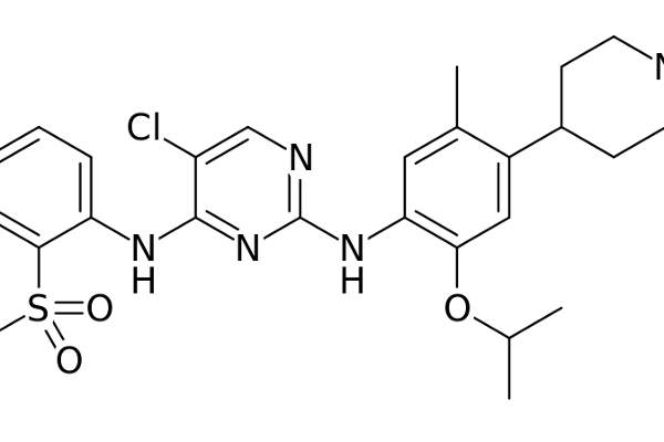 The drug contains anaplastic lymphoma kinase (ALK) inhibitor.