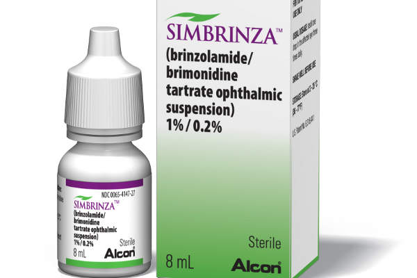 Simbrinza is available in the form of eye drops in 8ml packs.