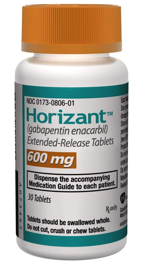 Horizant is the first drug in its class to have been approved for treating moderate-to-severe primary restless leg syndrome.