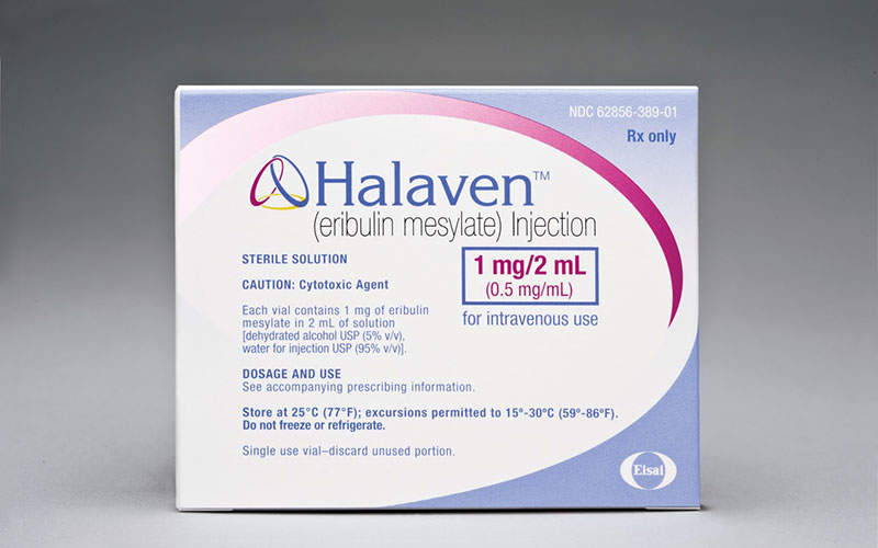 Halaven is the first FDA-approved drug for liposarcoma. Photo: courtesy of Eisai.