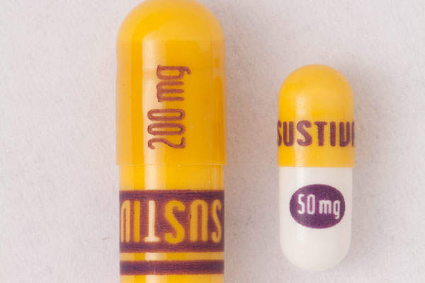 Sustiva is available in film-coated tablets and capsules. Image courtesy of Bristol-Myers Squibb (BMS).