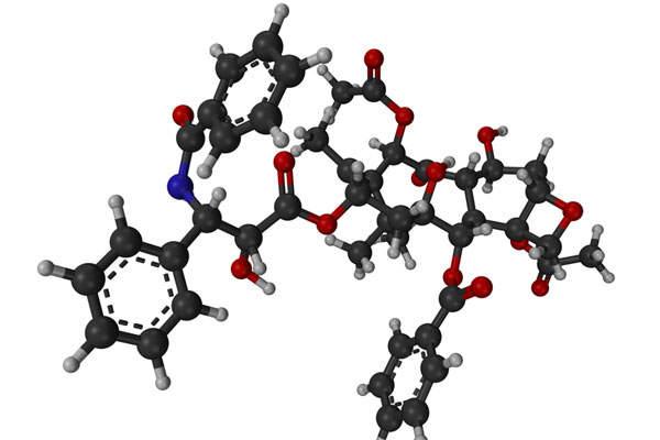 Abraxane contains an albumin-bound form of paclitaxel.