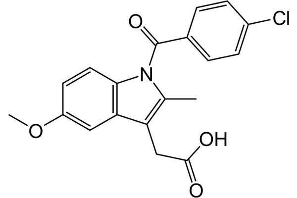 The drug contains a non-steroidal anti-inflammatory drug (NSAID) called indometacin.