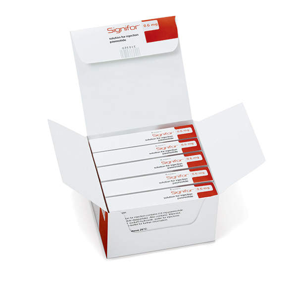 The European Commission (EC) approved Signifor for treating adult patients with Cushing's disease, in April 2012. Image courtesy of Novartis.