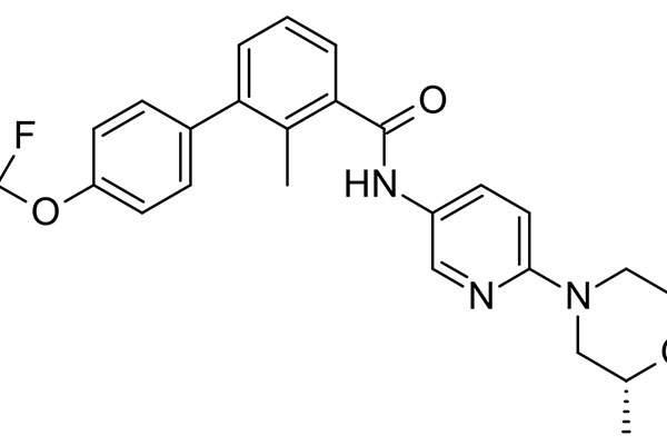 The drug contains sonidegib, a Hedgehog signalling pathway inhibitor. Image: public domain.