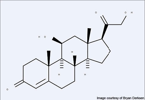 Chemical synthesis of Corticosteroids used by COPD patients for relief from breathlessness.