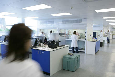Sygnature's state-of-the-art laboratories