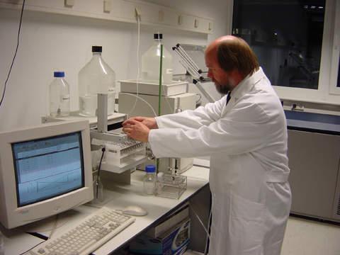 High-pressure liquid chromatography