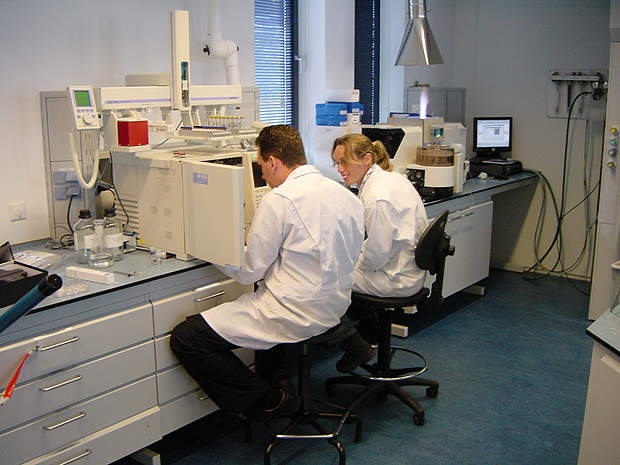 QC testing services in the field of chemistry