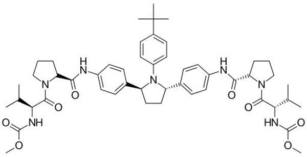 Ombitasvir is one of the two active ingredients in Technivie. Image is in the public domain.
