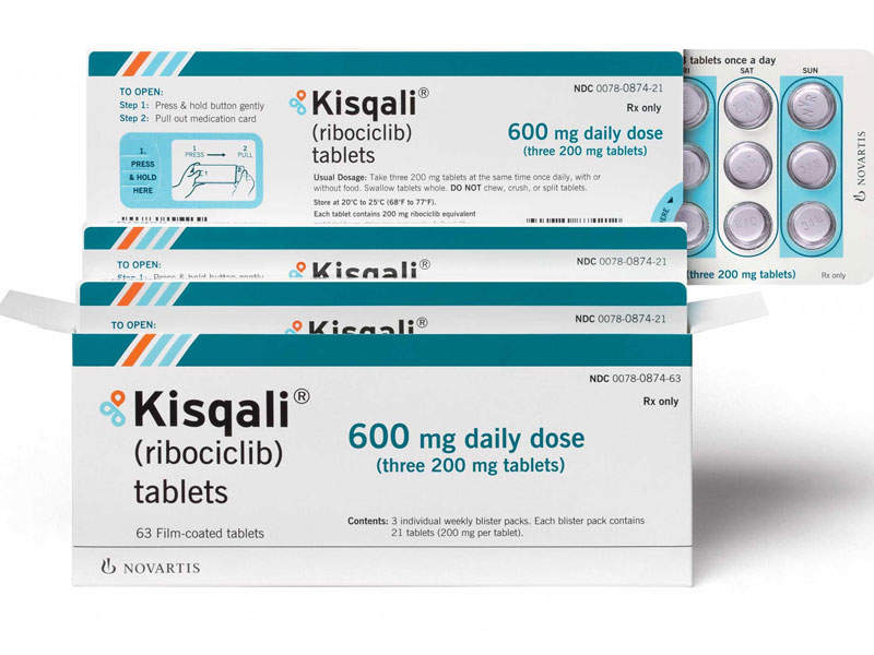 The drug is available in 200mg dose for oral administration. Image courtesy of Novartis.