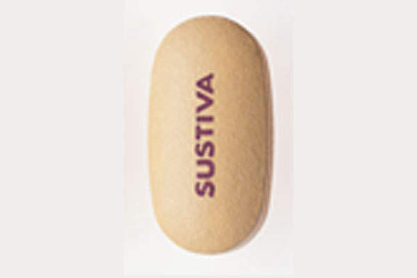 Sustiva is an antiretroviral drug used for the treatment of HIV. Image courtesy of Bristol-Myers Squibb (BMS).