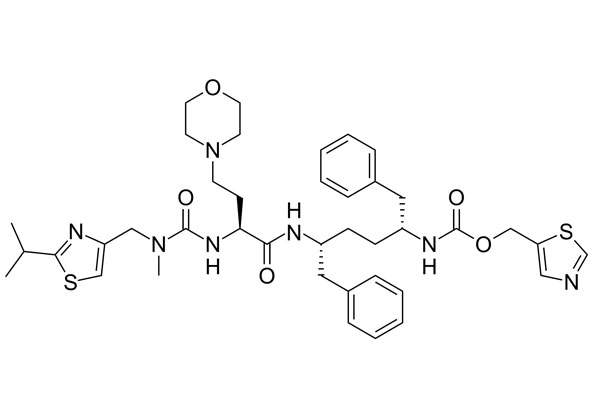 Cobicistat contained in Evotaz inhibits the activity of human CYP3A enzymes. Image: public domain.