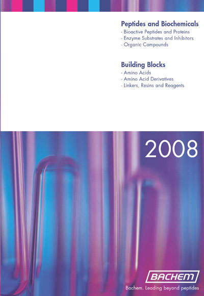 Bachem's - Peptide Building Blocks