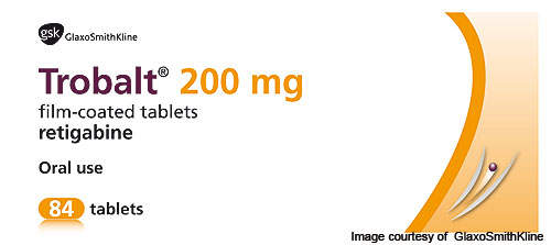 Trobalt is manufactured under the trade name Potiga in the US and Canada. The drug was launched in the US in 2012.
