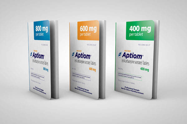 Sunovion received approval from the US Food and Drug Administration (FDA) for the use of Aptiom in November 2013. Image courtesy of Sunovion.