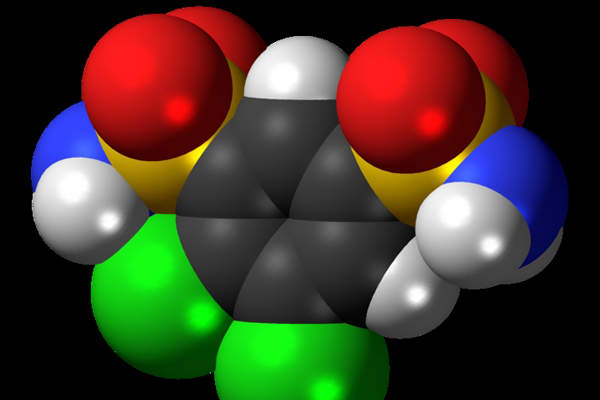 Keveyis contains an active ingredient called dichlorphenamide. Image: courtesy of Jynto.