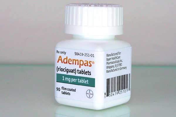 Adempas was approved by the US Food and Drug Administration (FDA) in October 2013.