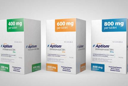 Aptiom tablets