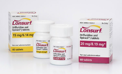 Lonsurf (trifluridine and tipiracil) is Taiho Oncology's first FDA approved drug.
