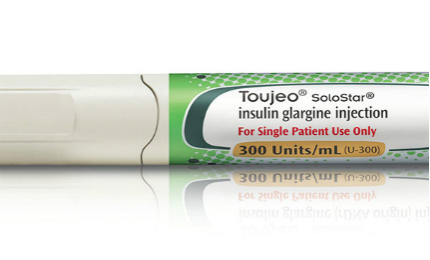 Toujeo is a US FDA-approved insulin injection to improve glycaemic control in diabetes patients.