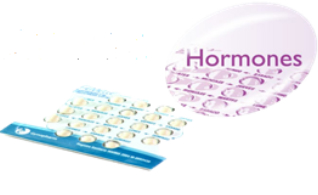 Hormone Replacement and Birth control require a strict dose.