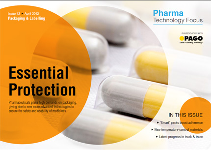 Read the latest issue of Pharma Technology Focus.