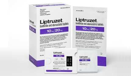 Liptruzet (ezetimibe and atorvastatin) is a combination drug indicated to reduce elevated low-density lipoprotein (LDL) cholesterol in patients suffering from hyperlipidaemia disorder.